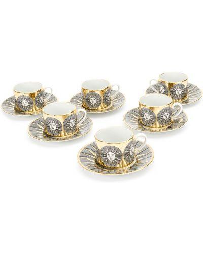 Золотистый домашний маникюрный набор золотой Fornasetti