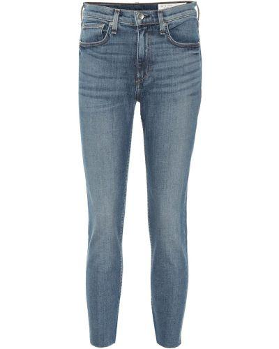 Zawężony bawełna niebieski bawełna obcisłe dżinsy Rag & Bone