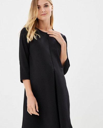 Черное платье осеннее Mammysize
