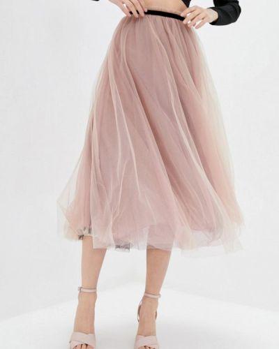 Розовая юбка свободного кроя Miss Sixty