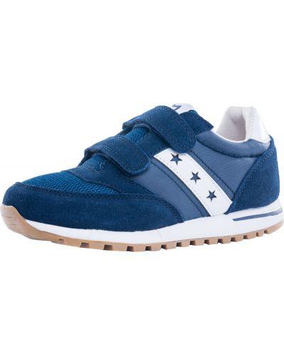 Комбинированные синие кроссовки котофей