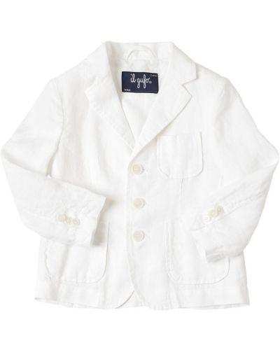 Biała kurtka Il Gufo
