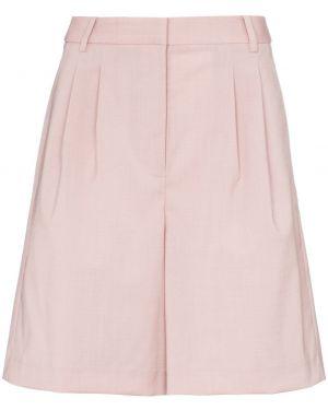 Розовые шорты с карманами Tibi