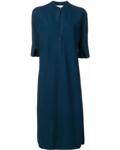 Свободное платье миди на пуговицах свободного кроя Molli