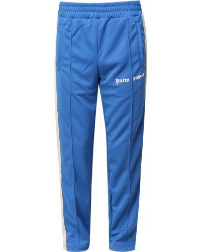 Spodnie - niebieskie Palm Angels