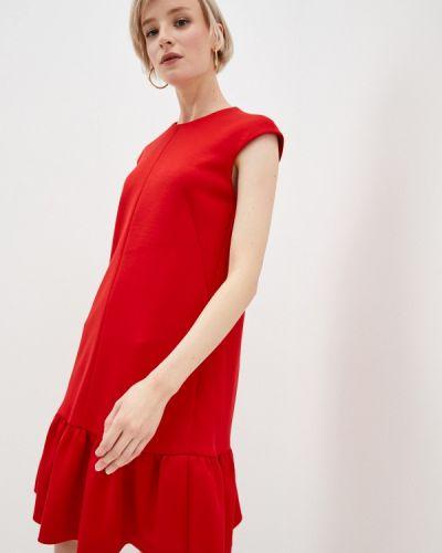 Повседневное красное платье Akris Punto