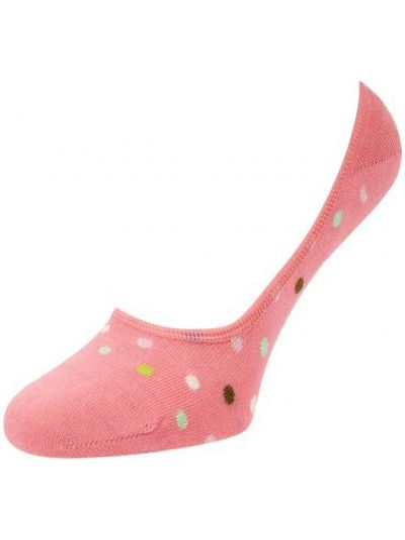 Różowe skarpety bawełniane Happy Socks