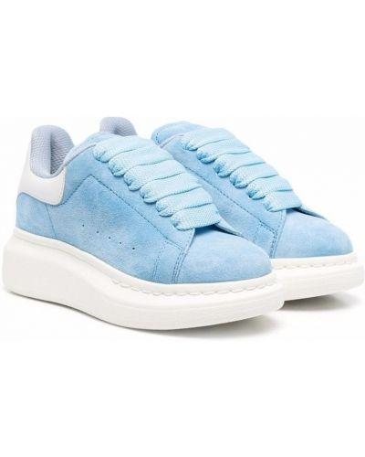 Sneakersy niskie - niebieskie Alexander Mcqueen