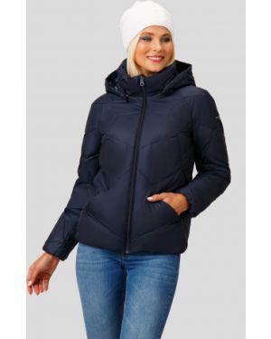 Утепленная куртка пуховая синий Finn Flare