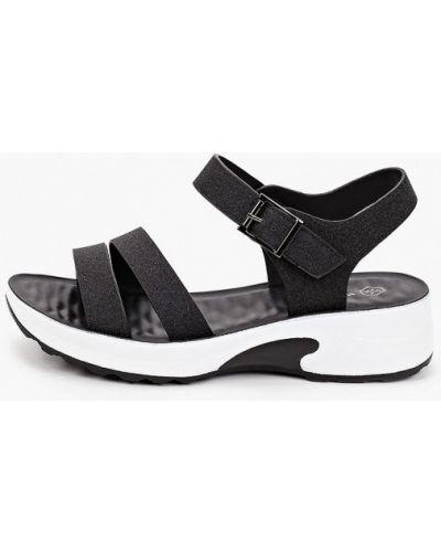 Черные кожаные сандалии Wilmar