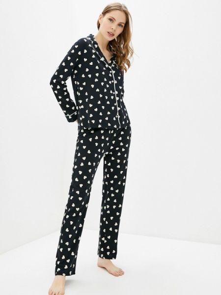 Пижама черная пижамный Women'secret