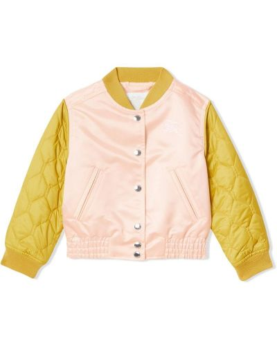 Куртка розовый Burberry Kids