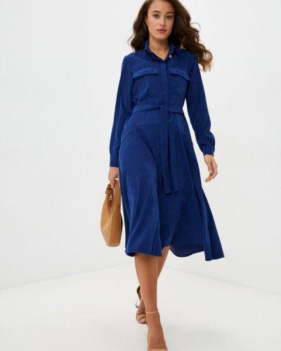 Фиолетовое прямое платье Aelite