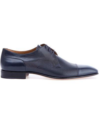 Классические туфли на шнуровке итальянские Moreschi