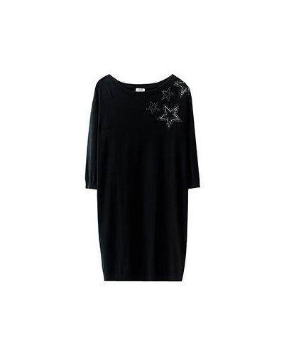 Черное повседневное платье Liu Jo