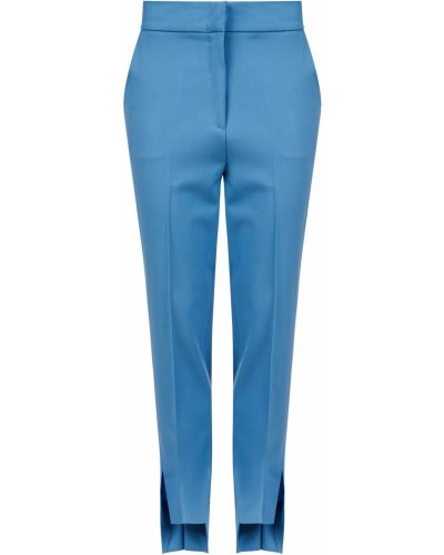 Шерстяные брюки - голубые D.exterior