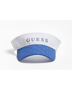 Daszek wełniany z logo Guess