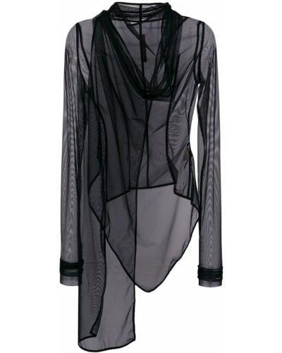 Черная куртка Rick Owens Lilies