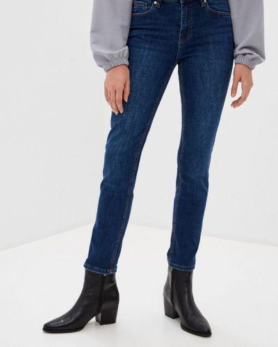 Синие прямые джинсы Springfield