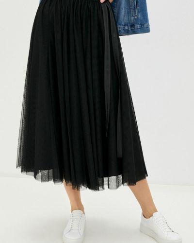 Черная юбка свободного кроя Joop!
