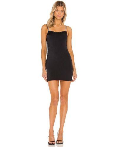 Czarna sukienka mini Hah