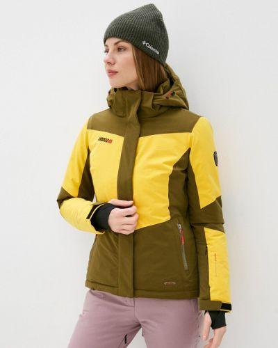 Желтая куртка горнолыжная High Experience