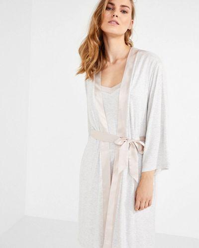 Серый халат домашний Women'secret