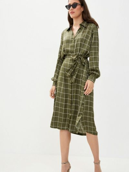 Зеленое платье Twist & Tango