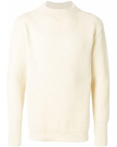 Белый свитер свободного кроя Andersen-andersen
