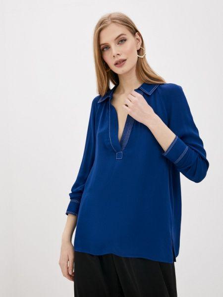 Блузка - синяя By Malene Birger