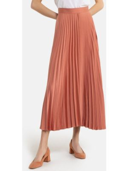 Плиссированная юбка макси La Redoute