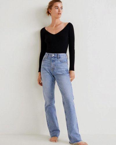 Черный пуловер 2018 Mango