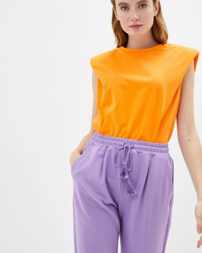 Оранжевая с рукавами футболка Imperial