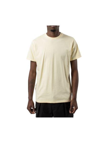 Żółty t-shirt Colorful Standard