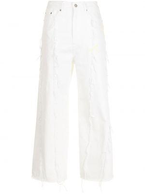 Прямые джинсы - белые Sjyp