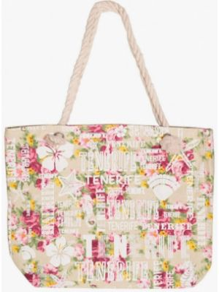 Пляжная сумка бежевый весенний Dream Time