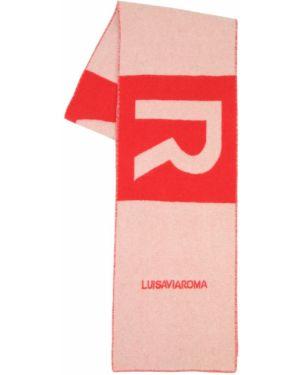 Z kaszmiru szalik z haftem Luisaviaroma