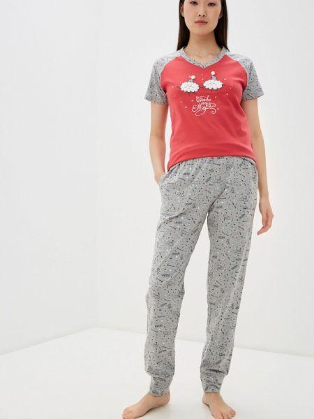 Пижамная красная пижама Relax Mode