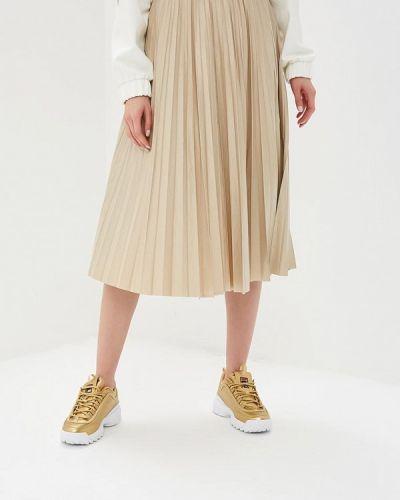 Плиссированная юбка зеленый итальянский Imperial