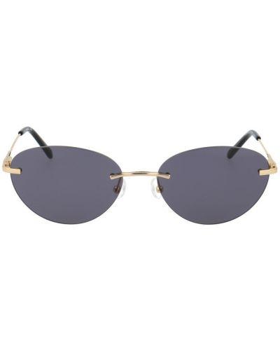 Fioletowe okulary Calvin Klein