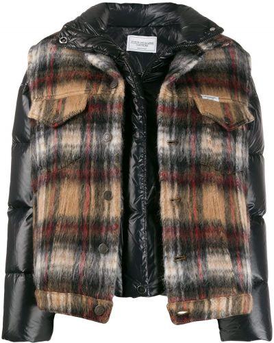 Куртка из альпаки - черная Forte Dei Marmi Couture