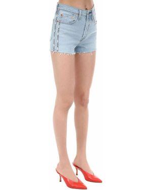 Джинсовые шорты с карманами на пуговицах Levi's Red Tab