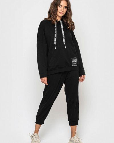 Костюмный черный спортивный костюм Sfn