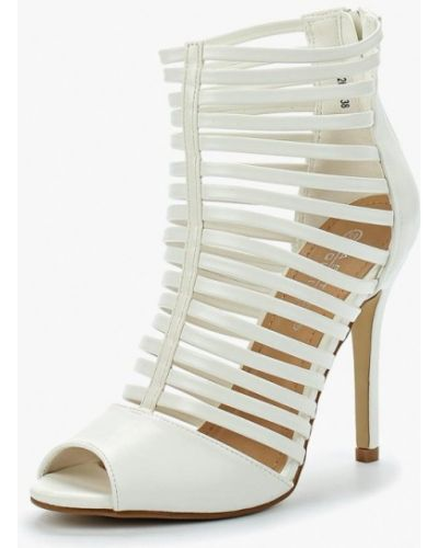 Белые босоножки на каблуке La Bottine Souriante