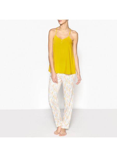 Пижама с карманами пижамный La Redoute Collections