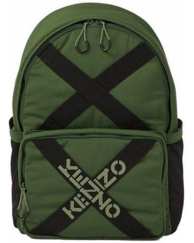 Sport plecak w paski z printem Kenzo
