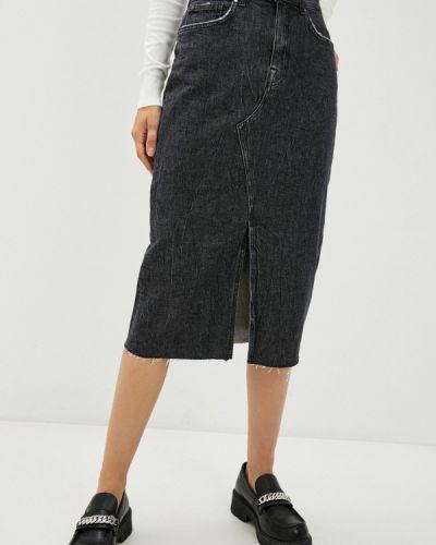 Джинсовая юбка - серая Guess Jeans