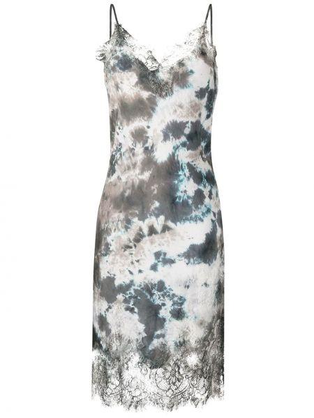 Платье миди платье-комбинация на бретелях Gold Hawk