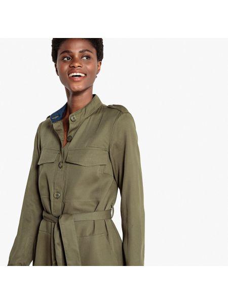 Платье миди мини платье-рубашка La Redoute Collections