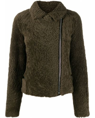 Серебряная длинная куртка Yves Salomon Meteo